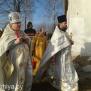 Благочинный Жлобинского округа протоиерей Василий Пилипенко и настоятель храма протоиерей Андрей Москаленко